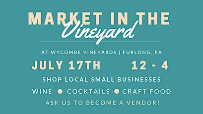 July Market in the Vineyard tickets