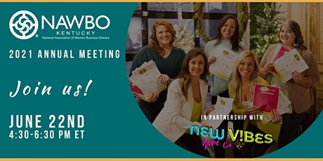2021 Annual Meeting & a Conversation with the Owners of New Vibes Wine Co. tickets
