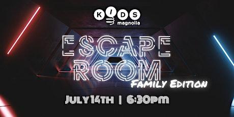 Escape Room: Family Edition tickets