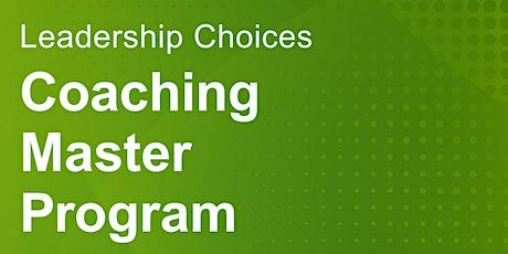 Lassen Sie sich begeistern von der LC Coaching Master Ausbildung Tickets