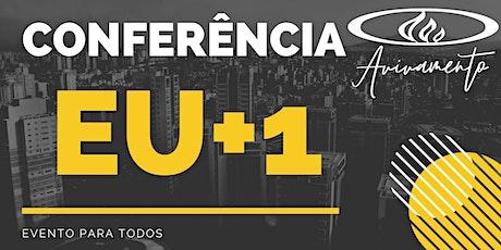 Conferência EU+1 ingressos
