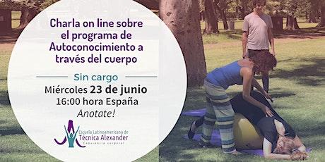 Charla on line sobre Autoconocimiento a través del cuerpo- España entradas