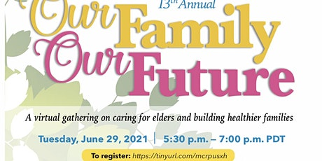 13th Annual Our Family Our Future tickets