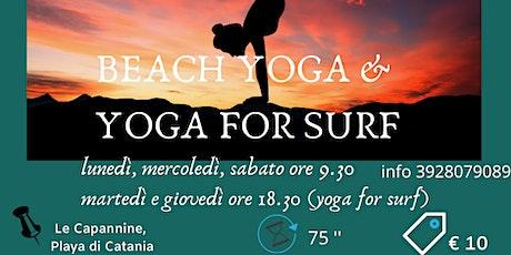 Beach Yoga & Yoga for Surf biglietti