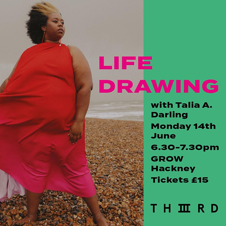 THIIIRD presents Life Drawing with Talia A Darling image