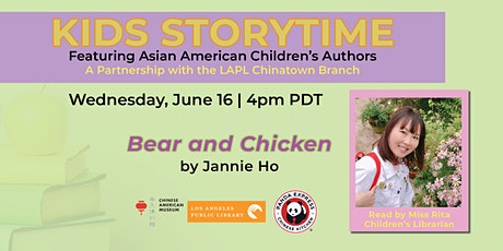 Kid's Story Time Featuring Asian American Children's Authors tickets