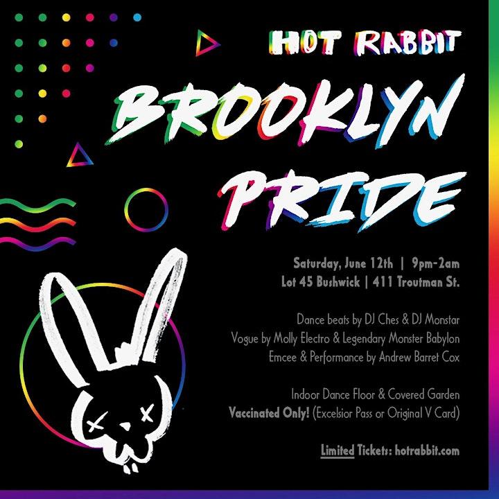 Hot Rabbit's •••BROOKLYN PRIDE••• LGBTQ Dance Party! image