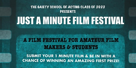Just a Minute Film Festival tickets