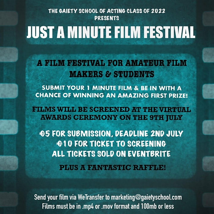 Just a Minute Film Festival image