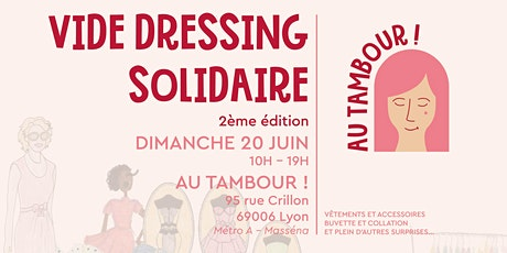 Vide dressing solidaire #2 - Au Tambour ! billets