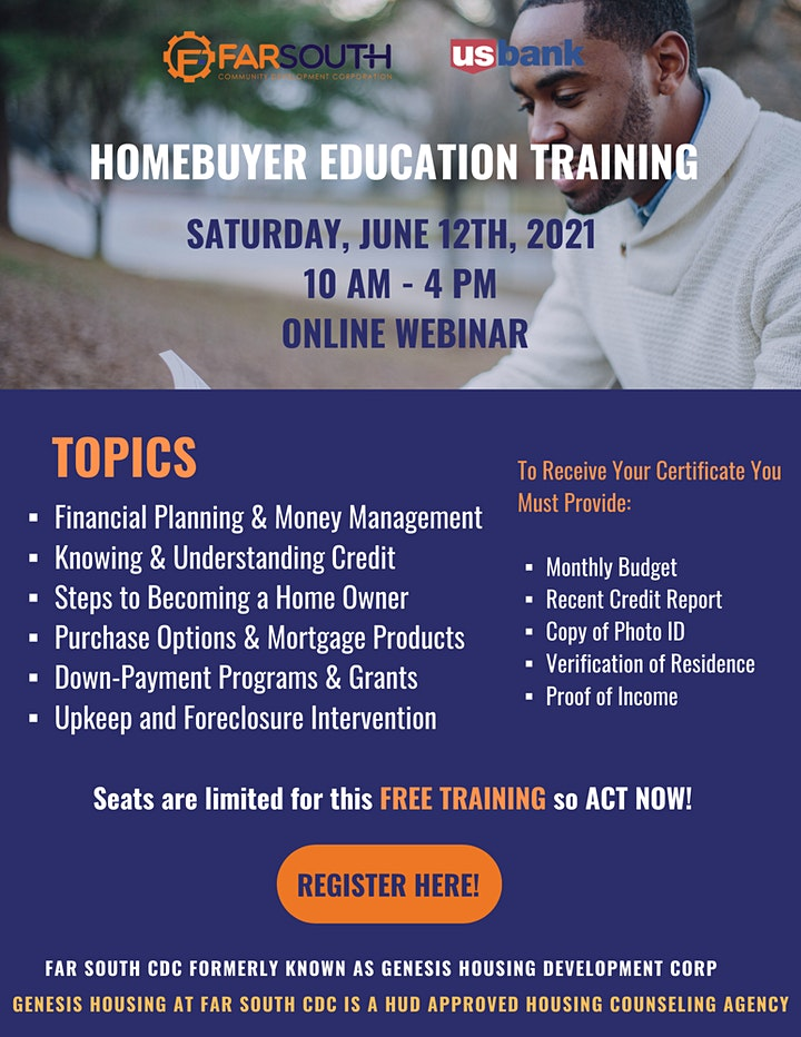 Far South CDC Homebuyer Education Class image