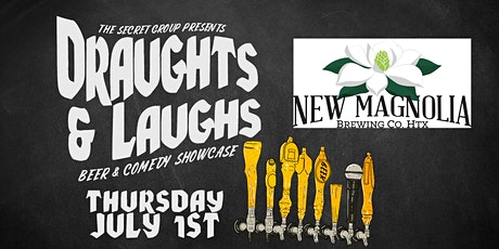 DRAUGHTS & LAUGHS: BEER & COMEDY SHOW! Feat. New Magnolia Brewery! tickets