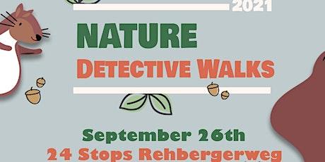 September Nature Detective Walk: Family Nature Walk 24 Stops Rehbegerweg tickets