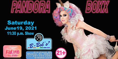 Pandora Boxx of RPDR AS6  to perform at B-Bob's during Pride Month! tickets