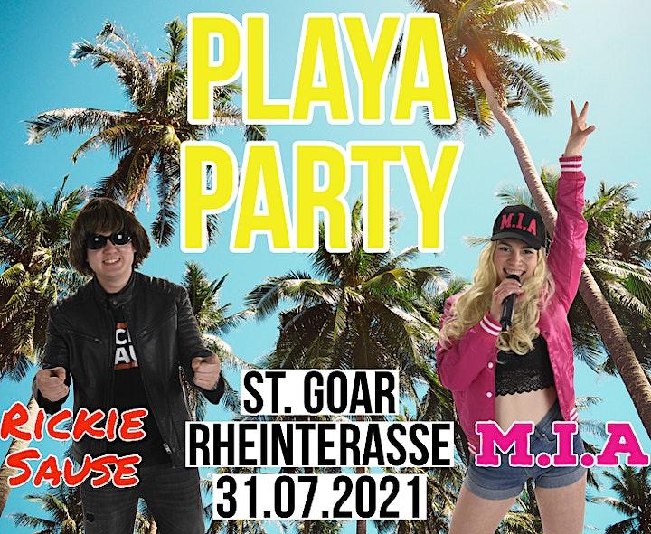 Sommer auf dem Rheinbalkon -Mallorca Party: Bild