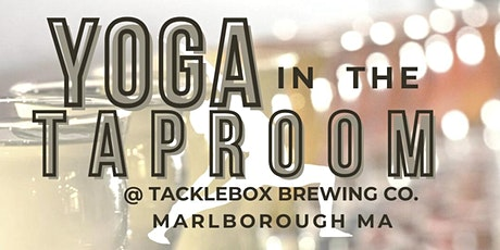 Yoga in the Taproom @ Tackle Box Brewing tickets