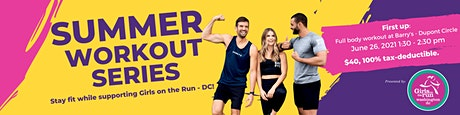 Summer Fun with Girls on the Run-DC and Barry's tickets