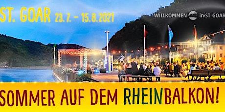Sommer auf dem Rheinbalkon -Cedi & Resi Tickets