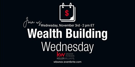 Wealth Building Wednesday - November tickets