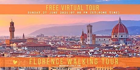 FLORENCE: Free Virtual Walking Tour tickets