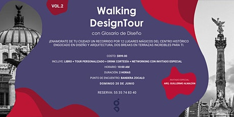 WALKING DESIGN TOUR con GLOSARIO DE DISEÑO boletos