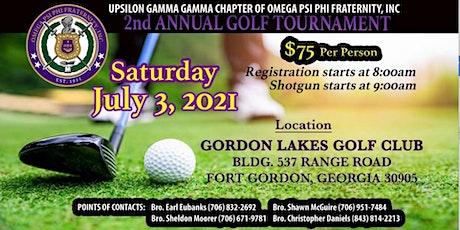 Upsilon Gamma Gamma Chapter of Omega Psi Phi INC 2nd Annual Golf Tournament tickets