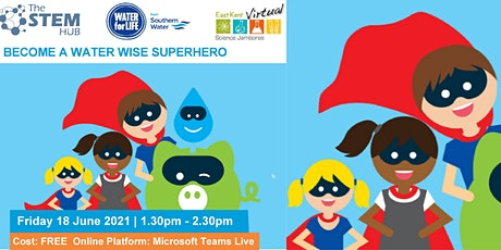 Science Jamboree: Become a Water Wise Super Hero boletos