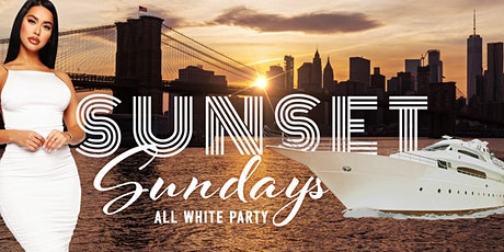 New York City SUNSET BRUNCH - WHITE BOAT Yacht Cruise Party tickets