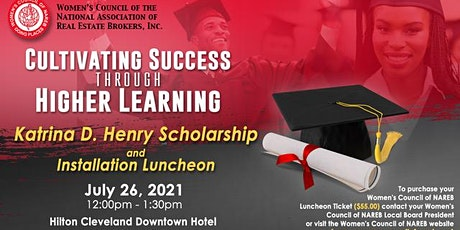 WCNAREB Katrina D. Henry Scholarship and Installation Luncheon tickets