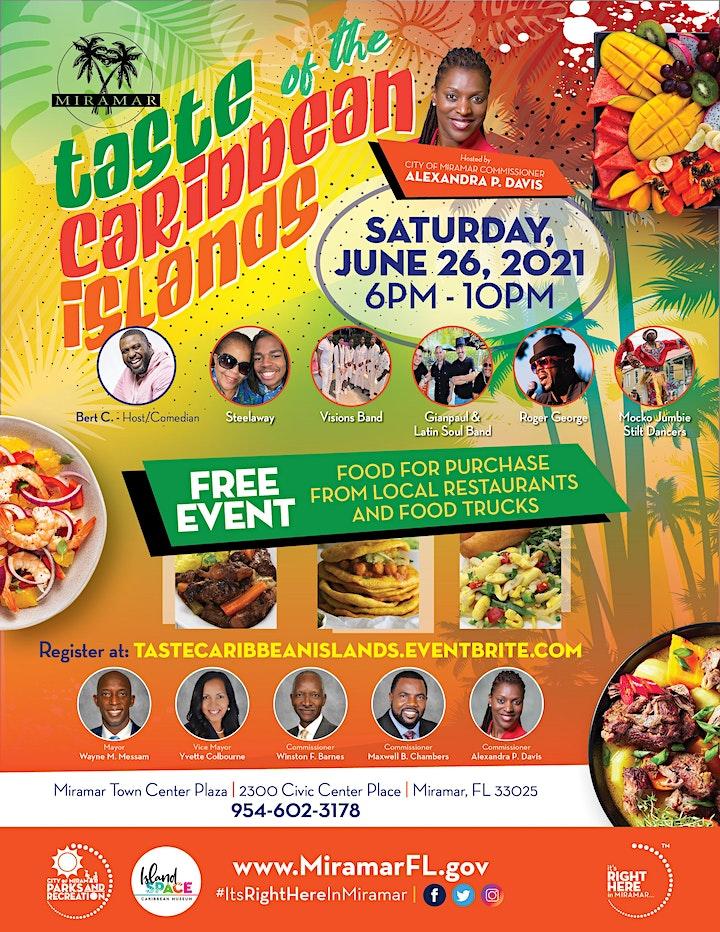 Taste of the Caribbean Islands image