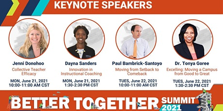 Sibme Better Together 2021 Virtual Summit tickets