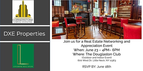 Real Estate Networking And Appreciation Event tickets