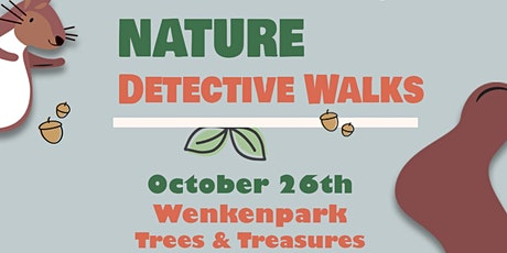 October Nature Detectives Walk: Family Nature Walk Wenkenpark tickets