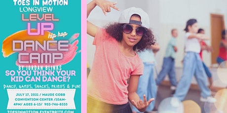 Toes In Motion Hip Hop Summer Dance Camp tickets