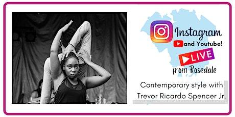 Contemporary Dance Class with Trevor Ricardo Spencer Jr. tickets