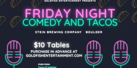 Friday Night Comedy And Tacos At Stein Brewing tickets