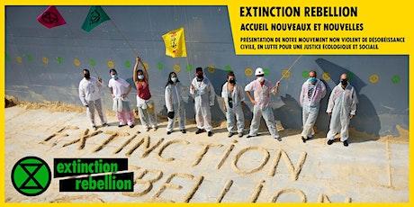 Réunion d'accueil Extinction Rebellion tickets