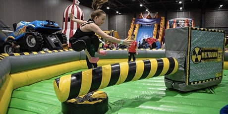 Inflatable adventure world Lady Barn Park Manchester tickets
