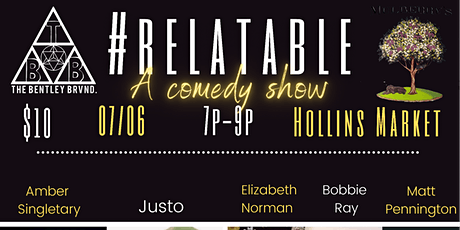 Relatable: A Comedy Show tickets
