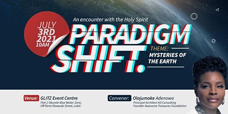 Paradigm Shift - Mysteries of the Earth tickets