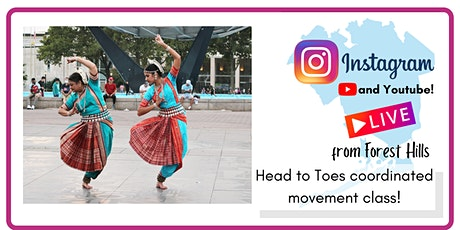 Head to Toes Coordinated Movement! with  Mala's Odissi tickets