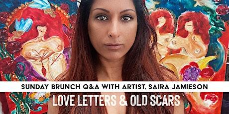 SUN BRUNCH Q&A WITH ARTIST SAIRA JAMIESON • EXHIBITION • NOTTING HILL •KCAW tickets