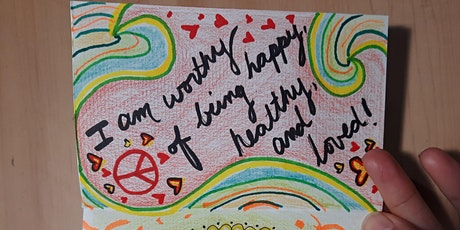 Art Therapy with Kayla - Positive Affirmation Journal tickets