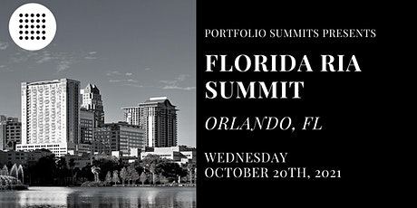 Florida RIA Summit tickets