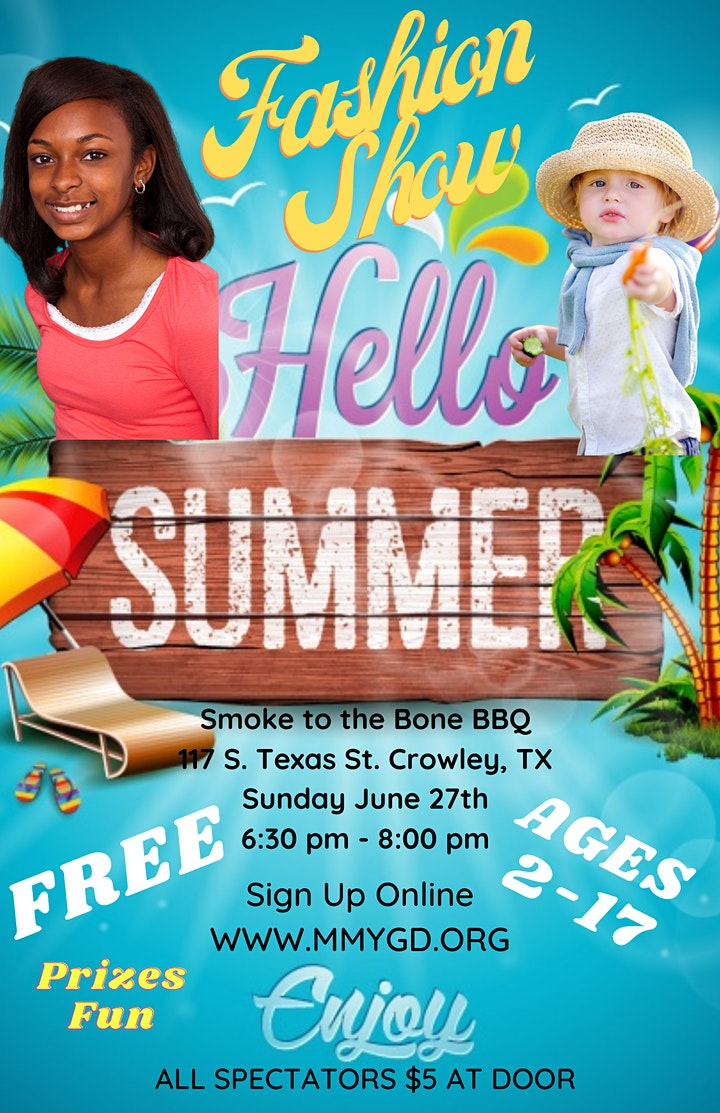 Hello Summer Fashion Show in Crowley, TX - FREE image