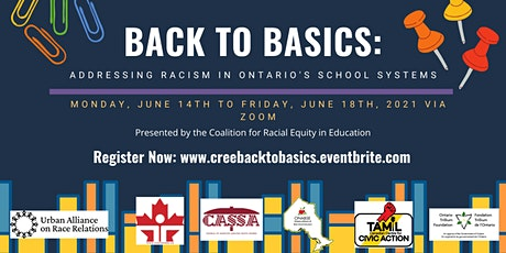 Back to Basics: Addressing Racism in Ontario's Secondary School System tickets