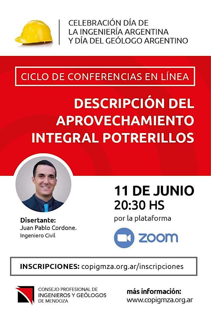Imagen de Conferencia: Descripción del aprovechamiento integral Potrerillos