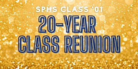 SPHS  '01 Class Reunion tickets