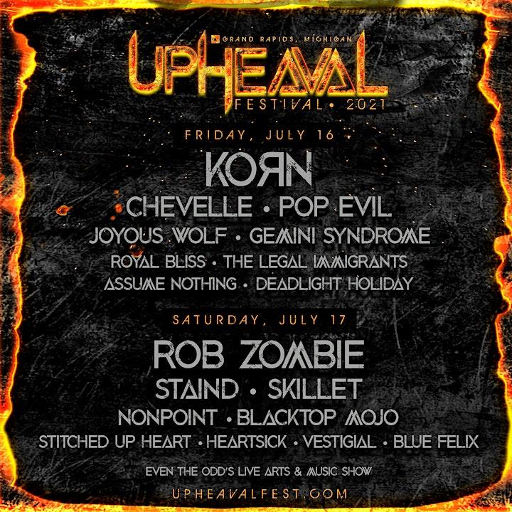 Upheaval Festival 2021 image