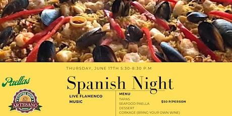 Spanish Night tickets